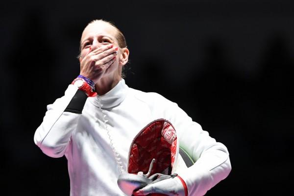 Szász Emese Olimpiai Bajnok Rio 2016