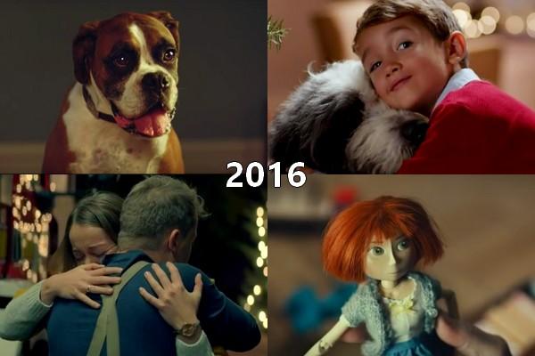 2016 legszebb karácsonyi reklámjai