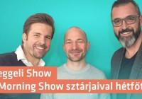 December 5-től a Rádió 1-en folytatódik Reggeli Show néven a népszerű reggeli műsor